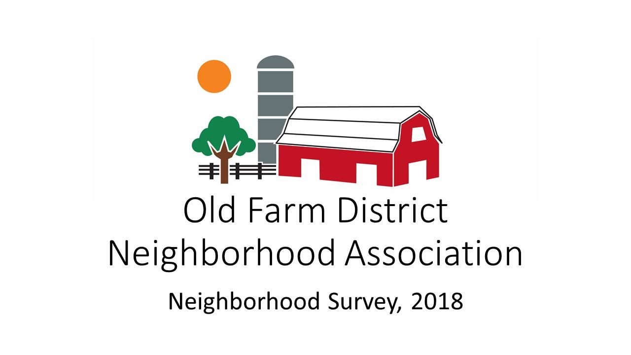2018 Neighborhood Survey Results