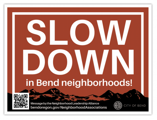 Slow Down on Neighborhood Streets