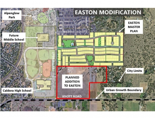 48-acre Addition to the Easton Master Plan